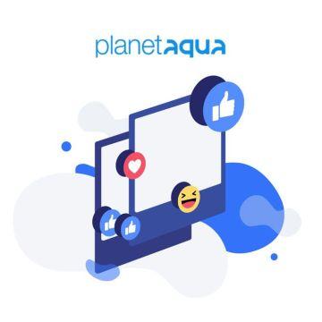 Présentation du site internet PLANET AQUA